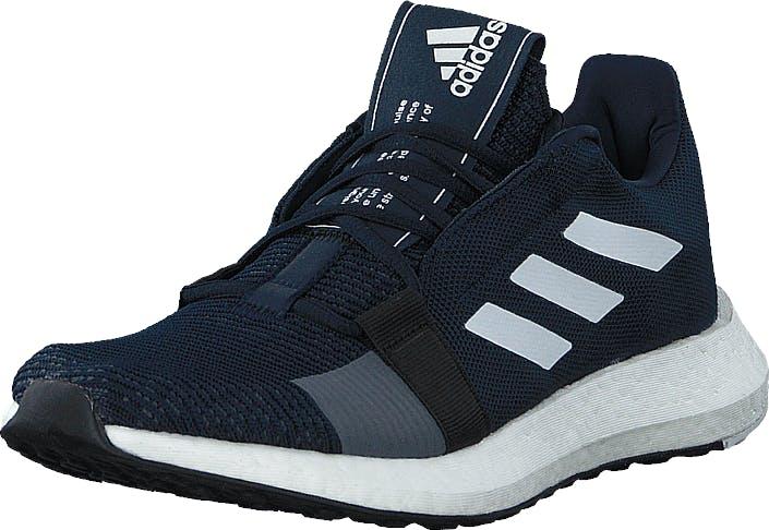 Adidas Sport Performance Senseboost Go M Collegiate Navy/ftwr White/cor, Kengät, Tennarit ja Urheilukengät, Urheilukengät, Sininen, Miehet, 43