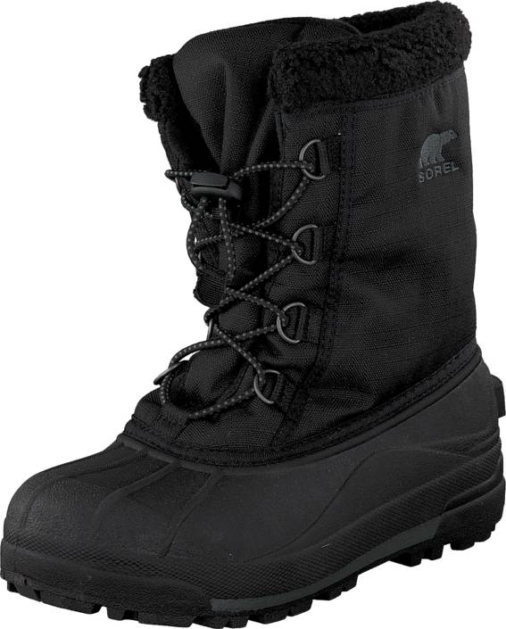 Sorel Youth Cumberland 010 Black, Kengät, Bootsit, Lämminvuoriset kengät, Musta, Unisex, 33