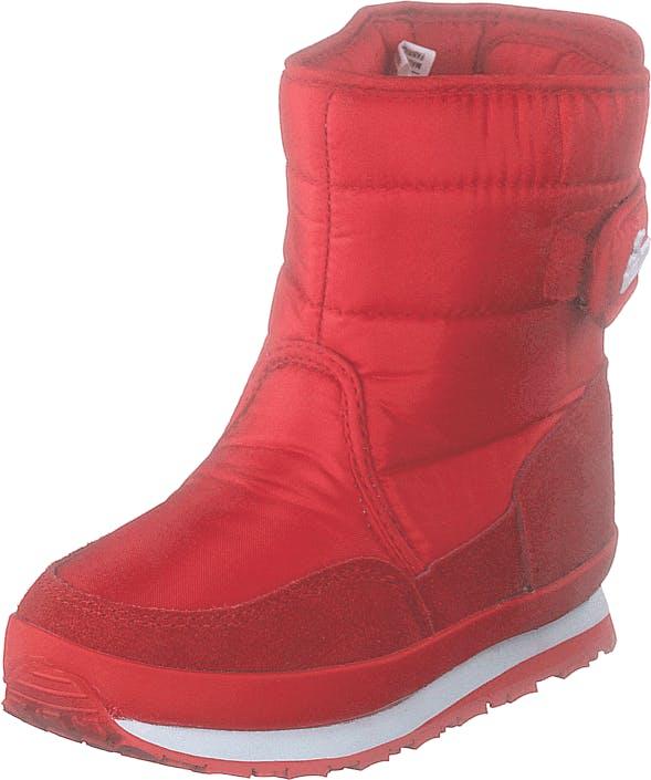 Rubber Duck Rd Nylon Suede Solid Kids Red, Kengät, Bootsit, Lämminvuoriset kengät, Punainen, Lapset, 34