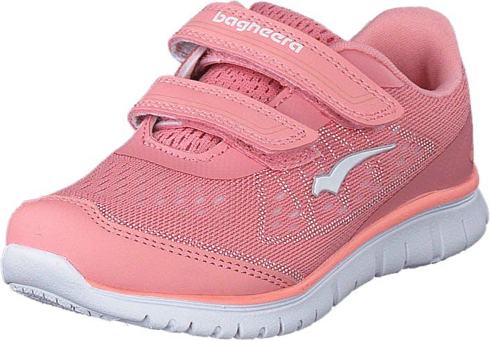 Bagheera Player Pink/white, Kengät, Tennarit ja Urheilukengät, Sneakerit, Vaaleanpunainen, Lapset, 23