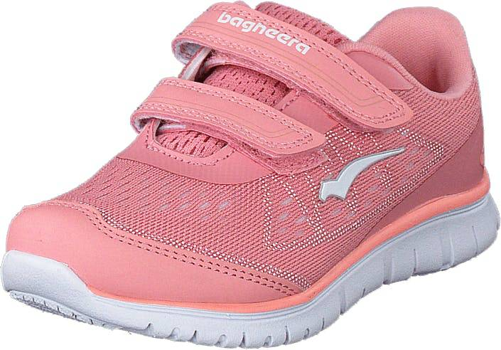Bagheera Player Pink/white, Kengät, Tennarit ja Urheilukengät, Sneakerit, Vaaleanpunainen, Lapset, 20