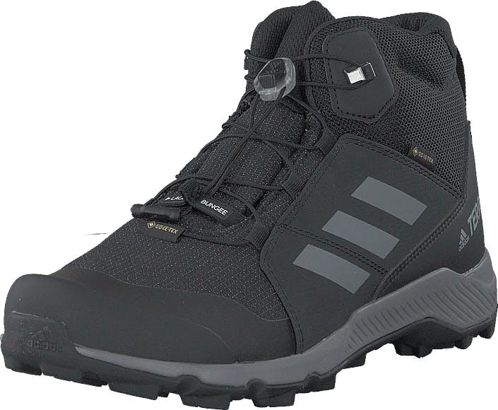 Adidas Sport Performance Terrex Mid Gtx K Core Black/grey Three F17/carb, Kengät, Tennarit ja Urheilukengät, Tennarit, Musta, Unisex, 39