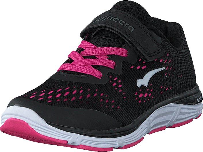 Bagheera Victory Jr Black/pink, Kengät, Tennarit ja Urheilukengät, Urheilukengät, Musta, Vaaleanpunainen, Lapset, 28