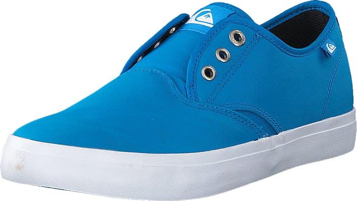 Quiksilver Qs Shorebreak Nylo M Shoe Blue/Blue/White, Kengät, Matalat kengät, Kangaskengät, Turkoosi, Sininen, Miehet, 40