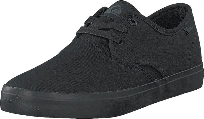 Quiksilver Qs Shorebreak M Shoe Solid Black, Kengät, Matalat kengät, Kangaskengät, Musta, Miehet, 39