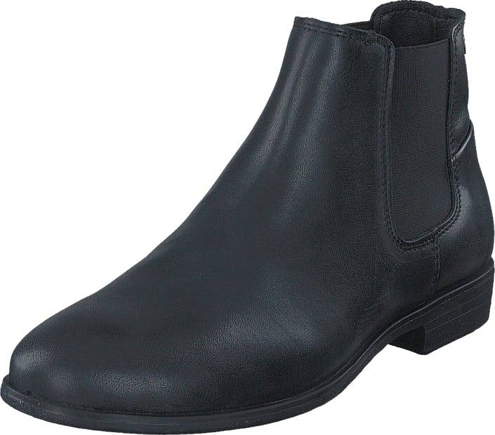 Jack & Jones Frank Leather Antracite, Kengät, Bootsit, Chelsea boots, Violetti, Harmaa, Miehet, 40