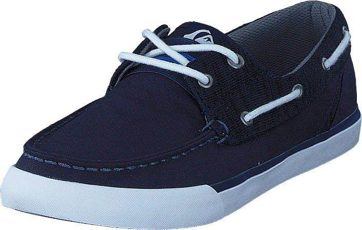 Quiksilver Spar Blue/Blue/White, Kengät, Matalat kengät, Loaferit, Sininen, Miehet, 40