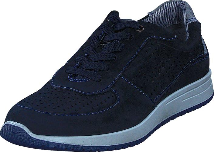 Bugatti Jacomo Navy Blue, Kengät, Tennarit ja Urheilukengät, Sneakerit, Sininen, Miehet, 40