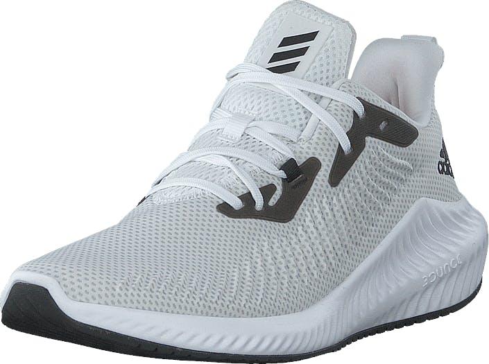 Adidas Sport Performance Alphabounce 3 Ftwr White/core Black/grey Two, Kengät, Tennarit ja Urheilukengät, Urheilukengät, Valkoinen, Miehet, 40