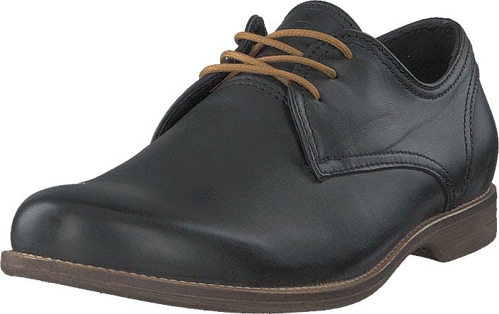 Sneaky Steve Fall Low Leather Black, Kengät, Matalat kengät, Juhlakengät, Musta, Miehet, 42
