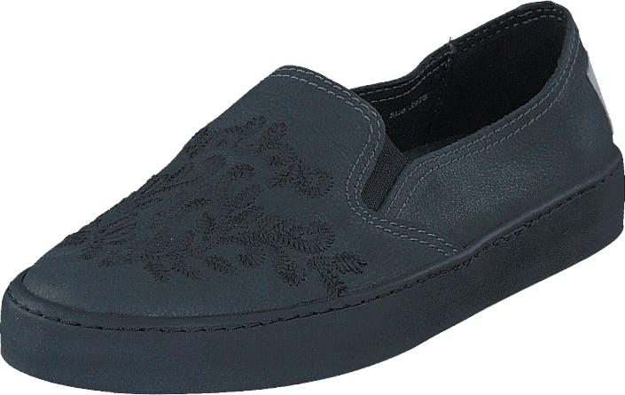 Odd Molly All Mine Slip-In Sneaker Asphalt, Kengät, Matalat kengät, Slip on, Sininen, Naiset, 36