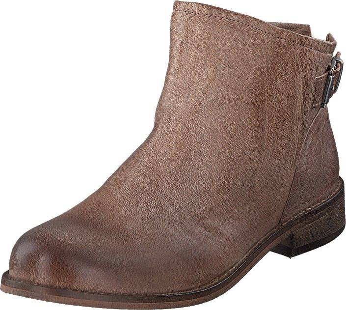 Sneaky Steve Charvest Beige, Kengät, Bootsit, Chelsea boots, Ruskea, Naiset, 36