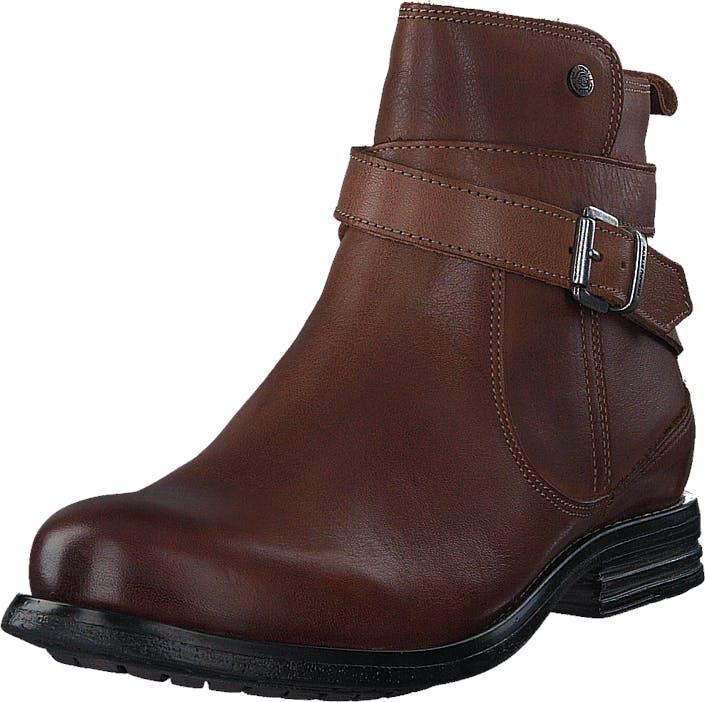Sneaky Steve Bristol W Cognac Zian, Kengät, Bootsit, Chelsea boots, Ruskea, Naiset, 36