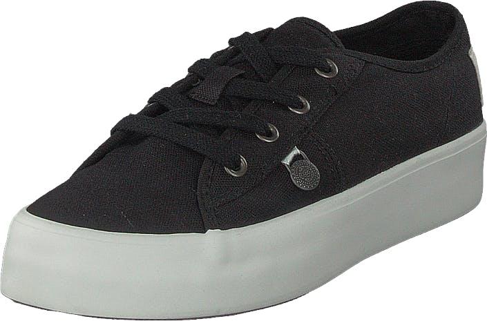 Odd Molly Pedestrian Sneaker Almost Black, Kengät, Matalat kengät, Kangaskengät, Musta, Naiset, 37