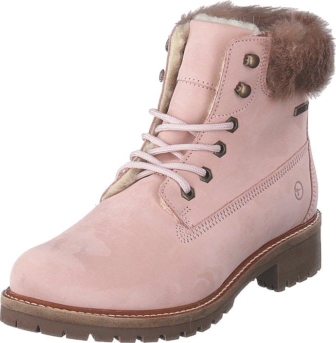Image of Tamaris 26294-564 Light Pink, Kengät, Bootsit, Kengät, Vaaleanpunainen, Naiset, 37