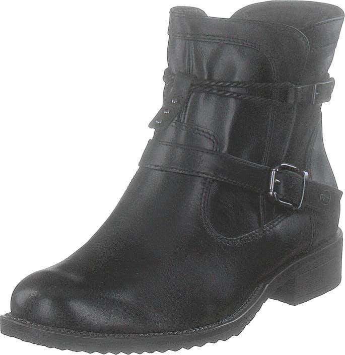 Image of Tamaris 25464-001 Black, Kengät, Bootsit, Korkeavartiset bootsit, Harmaa, Naiset, 36