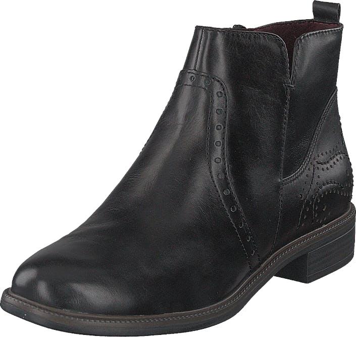 Image of Tamaris 1-1-25397-23 1 Black, Kengät, Bootsit, Chelsea boots, Harmaa, Naiset, 37