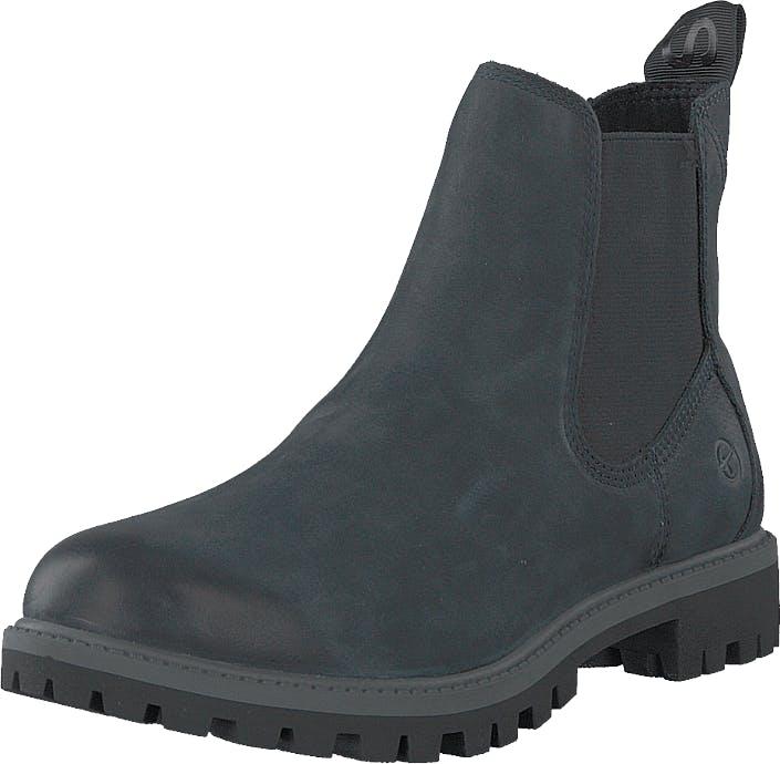 Image of Tamaris 1-1-25401-23 805 Navy, Kengät, Bootsit, Chelsea boots, Harmaa, Naiset, 38