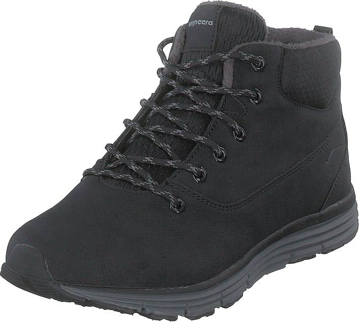 Bagheera Kodiak Black/dark Grey, Kengät, Bootsit, Kengät, Musta, Unisex, 35