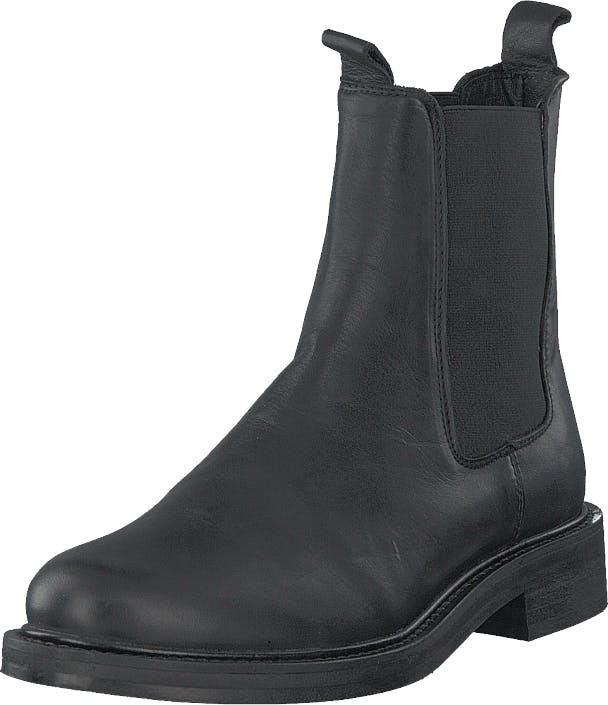 Shoe Biz Kassandra Velvet Black, Kengät, Bootsit, Chelsea boots, Musta, Naiset, 38