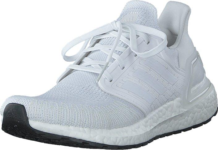 Adidas Sport Performance Ultraboost 20 Ftwr White/grey Three F17/core, Kengät, Matalat kengät, Kävelykengät, Valkoinen, Unisex, 42