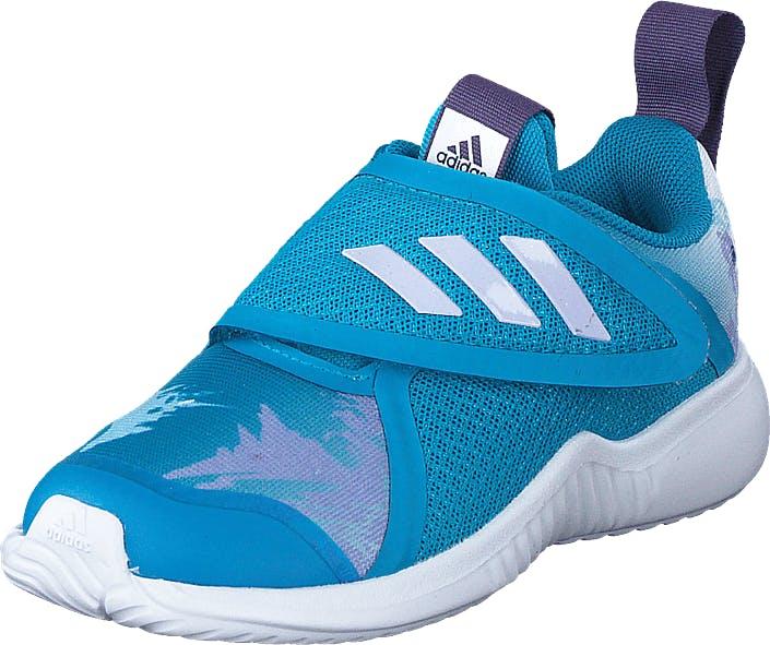 Adidas Sport Performance Fortarun X Frozen C Bold Aqua/purple Tint/ftwr Whi, Kengät, Tennarit ja Urheilukengät, Sneakerit, Sininen, Turkoosi, Lapset, 20