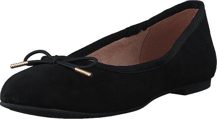 Image of Tamaris 1-1-22111-24 Svart, Kengät, Matalat kengät, Ballerinat, Musta, Naiset, 36