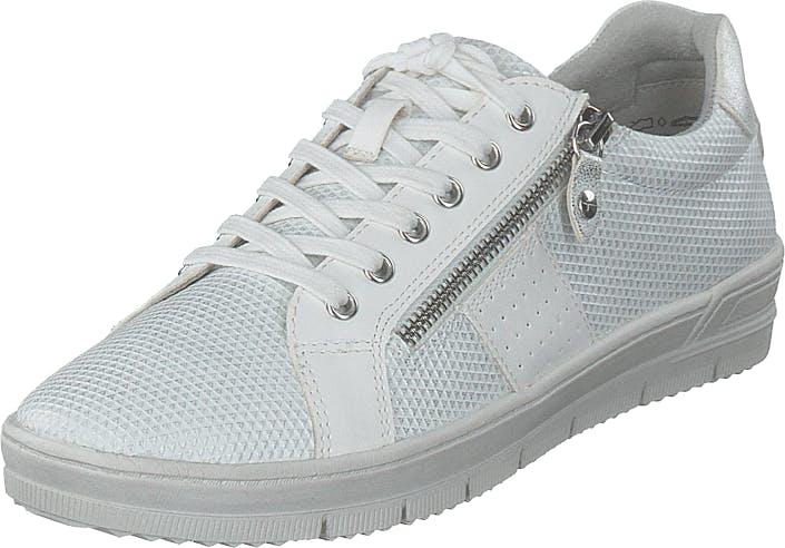 Image of Tamaris 1-1-23605-24 White Comb, Kengät, Tennarit ja Urheilukengät, Sneakerit, Valkoinen, Naiset, 40