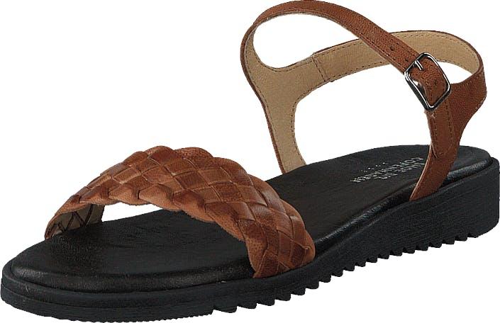 Shoe Biz Kant Eco Cognac, Kengät, Sandaalit ja Tohvelit, Remmisandaalit, Ruskea, Naiset, 39