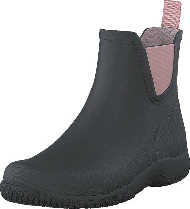 Tretorn Port Low Black/ Blossom, Kengät, Bootsit, Chelsea boots, Musta, Naiset, 39