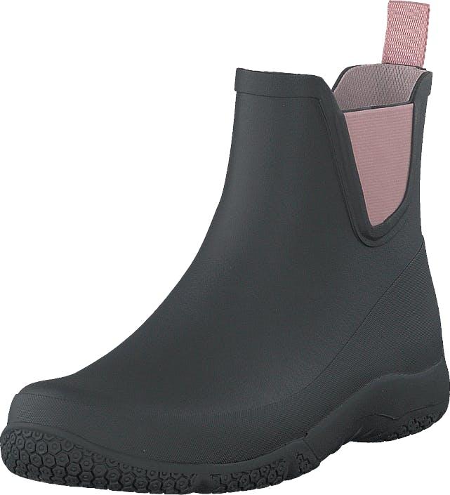 Tretorn Port Low Black/ Blossom, Kengät, Bootsit, Chelsea boots, Musta, Naiset, 38