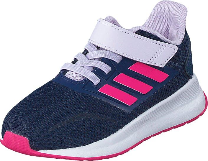 Adidas Sport Performance Runfalcon I Tech Indigo/shock Pink/purple, Kengät, Tennarit ja Urheilukengät, Urheilukengät, Sininen, Lapset, 24