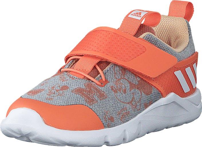 Adidas Sport Performance Rapidaflex  Minnie Glow Orange/ftwr White/semi Co, Kengät, Tennarit ja Urheilukengät, Sneakerit, Harmaa, Punainen, Lapset, 21