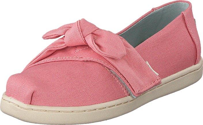 Toms Plt Dye Pnk Cvs/bow Tn Alpr Es Pink, Kengät, Matalat kengät, Slip on, Vaaleanpunainen, Lapset, 24