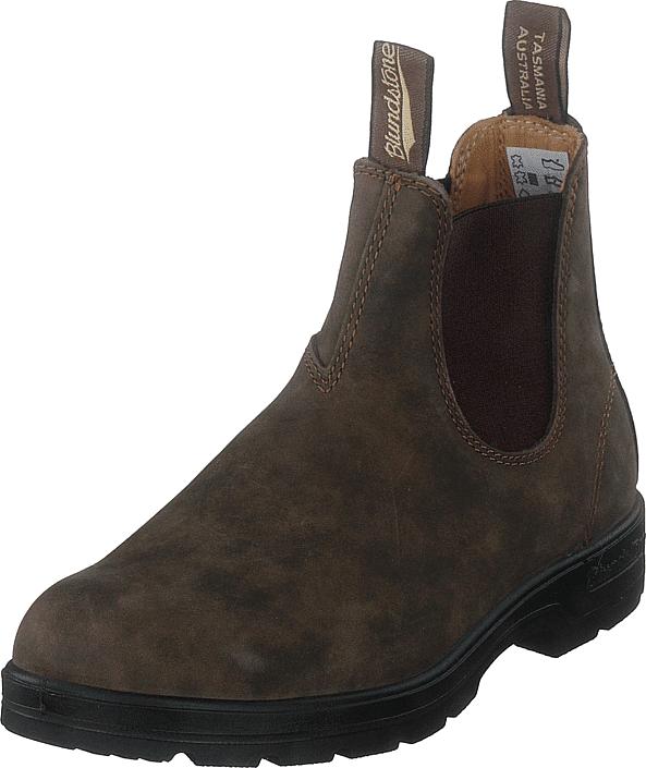 Blundstone 585 Rustic Brown, Kengät, Bootsit, Chelsea boots, Ruskea, Unisex, 46