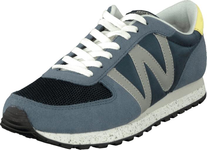WeSC PR02 - Post Racer Mechanical Blue, Kengät, Sneakerit ja urheilukengät, Sneakerit, Harmaa, Sininen, Miehet, 40