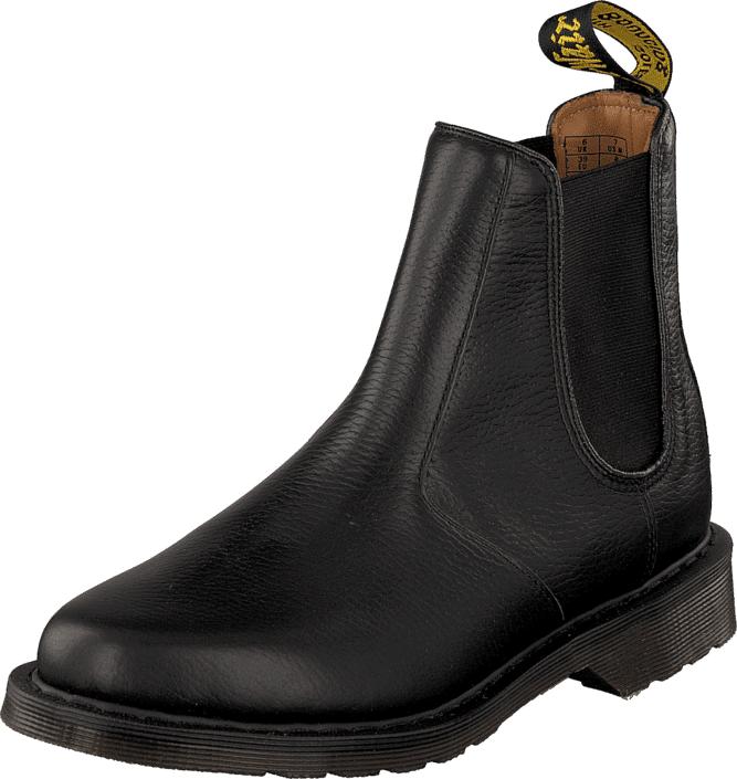 Dr Martens Victor Black, Kengät, Bootsit, Chelsea boots, Musta, Miehet, 42