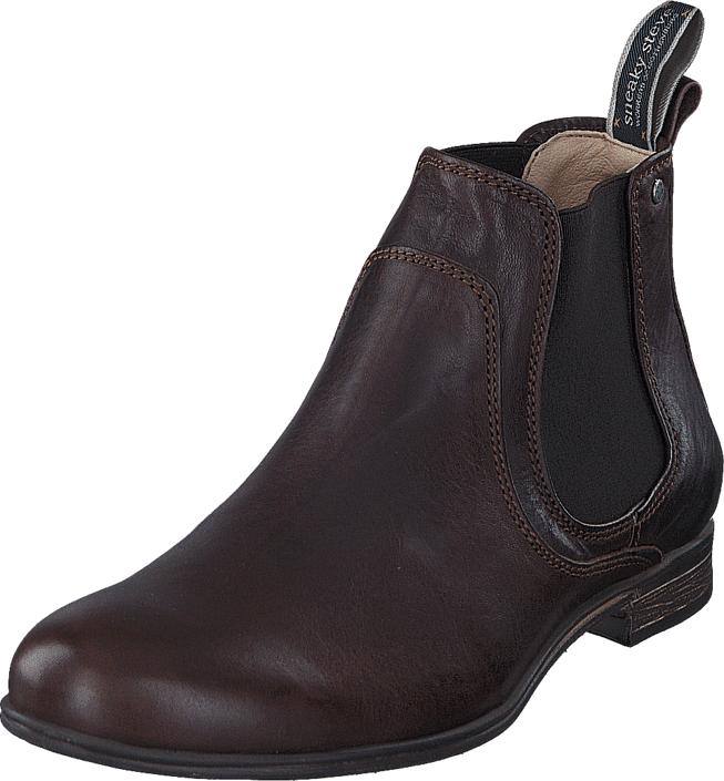 Sneaky Steve Cumberland Brown Eco, Kengät, Bootsit, Chelsea boots, Harmaa, Violetti, Miehet, 42