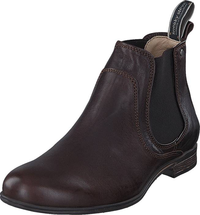 Sneaky Steve Cumberland Brown Eco, Kengät, Bootsit, Chelsea boots, Harmaa, Violetti, Miehet, 41