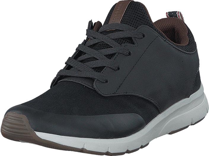 Jack & Jones Bolton Mixed Antracite, Kengät, Sneakerit ja urheilukengät, Sneakerit, Ruskea, Sininen, Miehet, 40