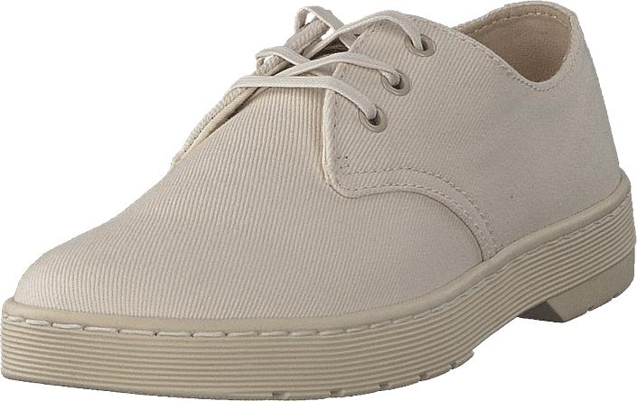 Dr Martens Delray White/ Beige, Kengät, Matalapohjaiset kengät, Juhlakengät, Beige, Miehet, 43
