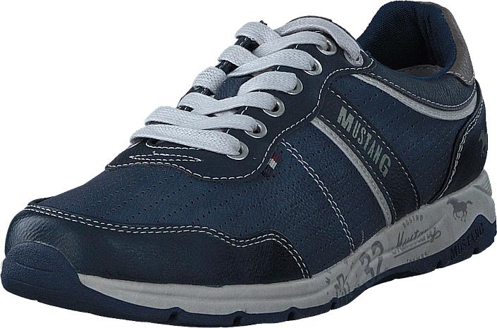 Mustang 4106308 Darkblue, Kengät, Sneakerit ja urheilukengät, Sneakerit, Sininen, Miehet, 41