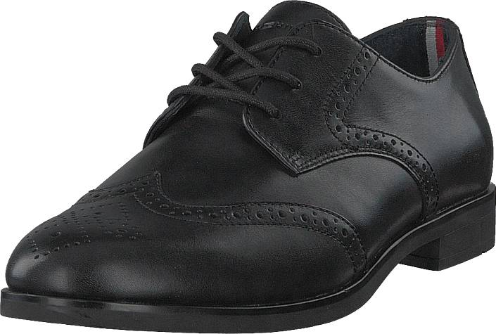 Image of Tommy Hilfiger New Colton 1a Black, Kengät, Matalapohjaiset kengät, Juhlakengät, Musta, Miehet, 40