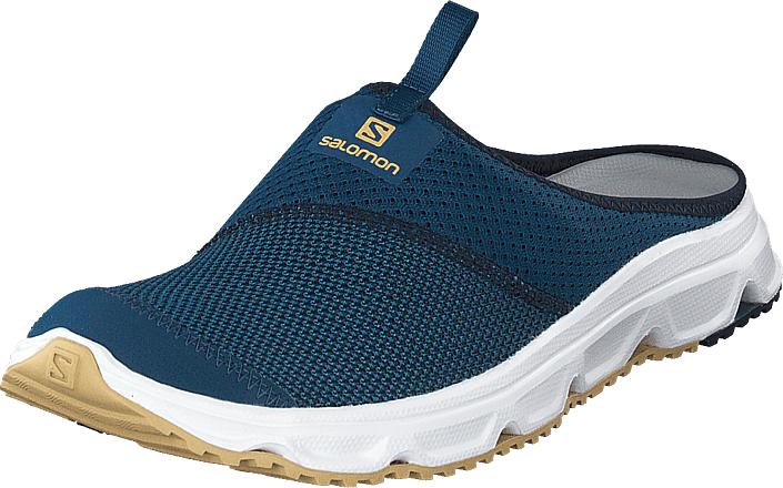 Salomon Rx Slide 4.0 Poseidon/navyblazer/taostaupe, Kengät, Sneakerit ja urheilukengät, Sneakerit, Sininen, Turkoosi, Miehet, 41