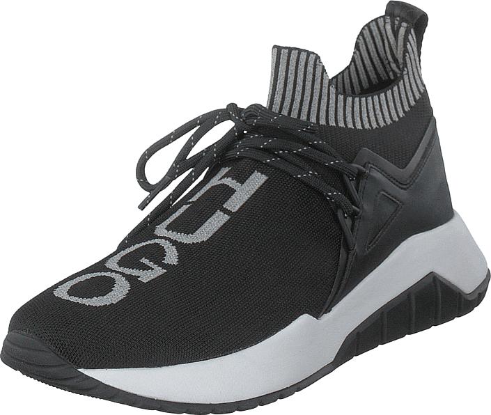 Hugo Boss Hugo - Hugo Boss Atom_slon_kn Black, Kengät, Sneakerit ja urheilukengät, Tennarit , Musta, Miehet, 42