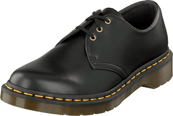 Image of Dr Martens 1461 Vegan Black, Kengät, Matalapohjaiset kengät, Juhlakengät, Harmaa, Unisex, 43