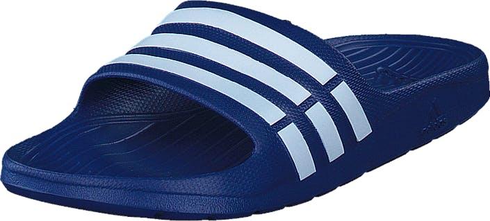 Adidas Sport Performance Duramo Slide True Blue/White/True Blue, Kengät, Sandaalit ja tohvelit, Sandaalit, Sininen, Unisex, 40