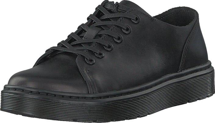 Image of Dr Martens Dante Black, Kengät, Matalapohjaiset kengät, Juhlakengät, Musta, Unisex, 38