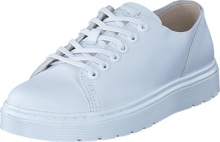 Image of Dr Martens Dante White, Kengät, Matalapohjaiset kengät, Kävelykengät, Valkoinen, Unisex, 40