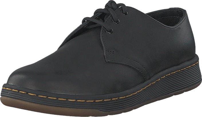 Image of Dr Martens DM's Lite Cavendish Black Temperley, Kengät, Matalapohjaiset kengät, Juhlakengät, Harmaa, Unisex, 36